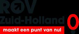 Logo ROV Zuid-Holland met onderschrift: maakt een punt van nul