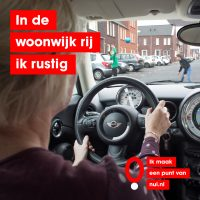 Snelheid vrouw achter stuur