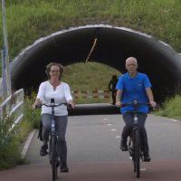 Doortrappen Comfortabel fietsen