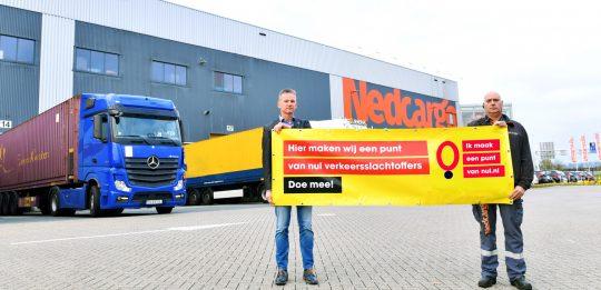 NedCargo maakt een punt van nul verkeersslachtoffers