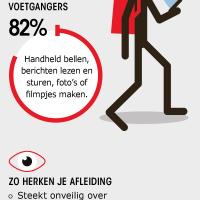 Infographic MONO voetgangers