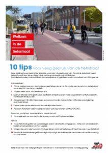 Gedrag op de fietsstraat