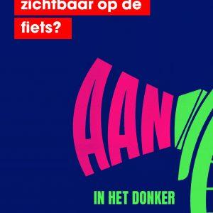 Poster fietsverlichting staand